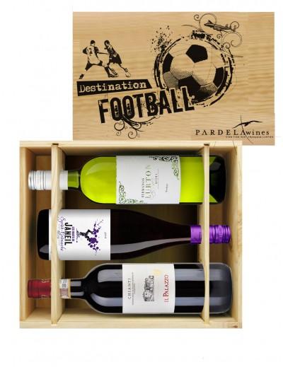 Coffrets Foot - 3 vins